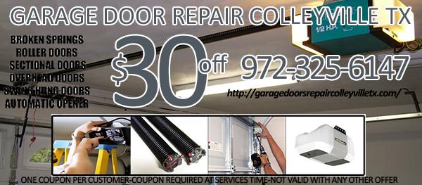 Garage Door Repair Colleyville TX Coupon
